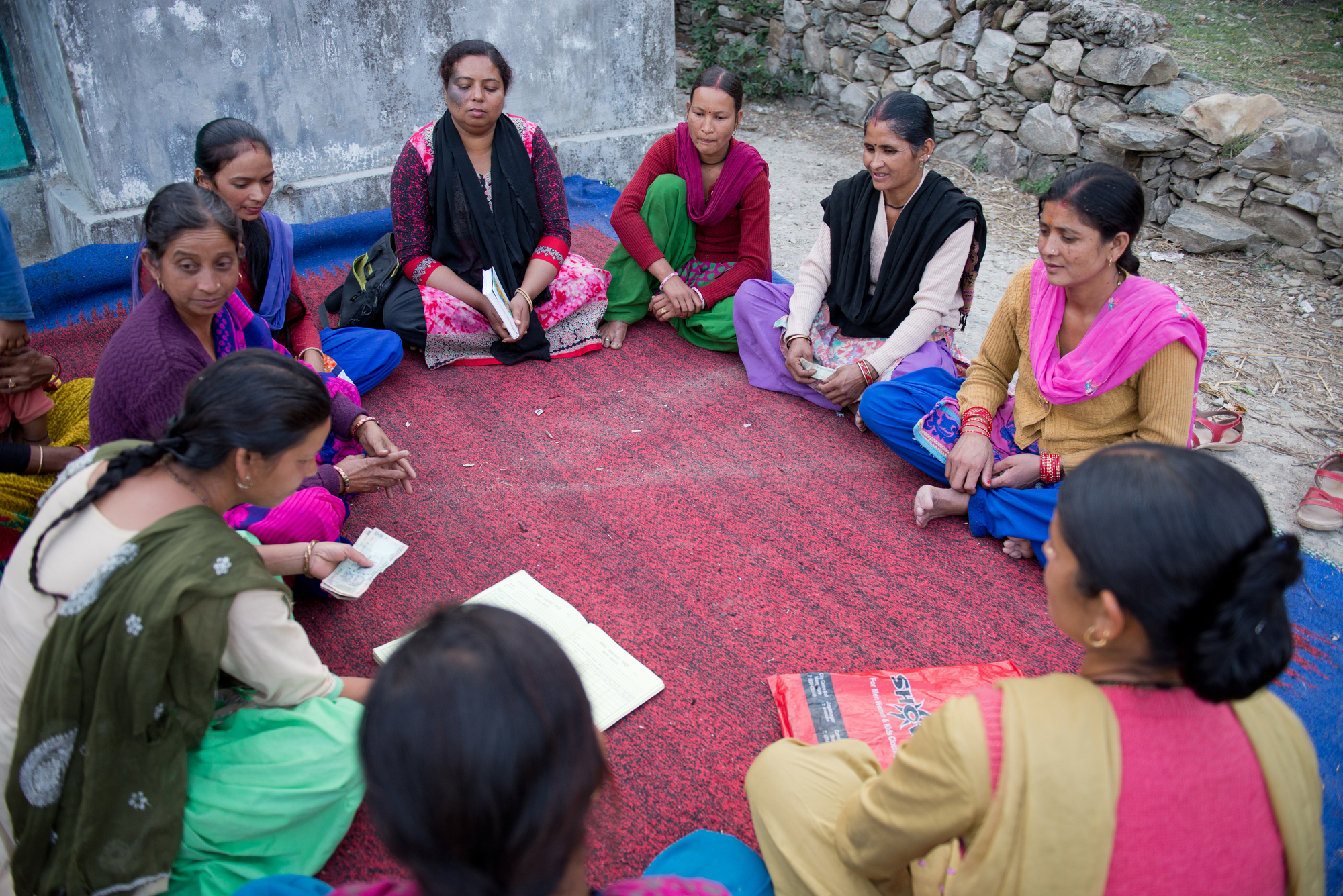 Savings Group of women in India