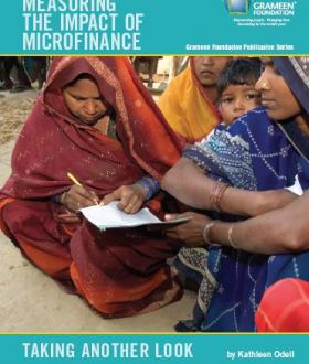 Measuring the Impact of Microfinance Grameen Report Cover