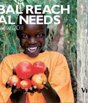 VisionFund Annual Report FY11 Cover