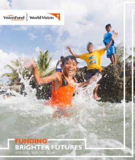 VisionFund Annual Report FY14 Cover