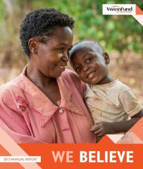 VisionFund Annual Report FY15 Cover