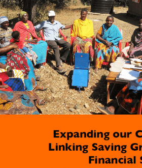 Savings group report cover