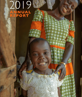 Cover image of annual report
