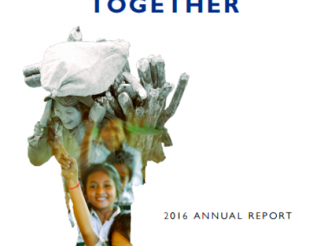 VisionFund Annual Report FY16 Cover