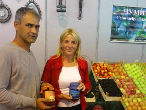 Gordana and Djordje Lazic are ensuring a better future for their children through agriculture and the production of healthy food.