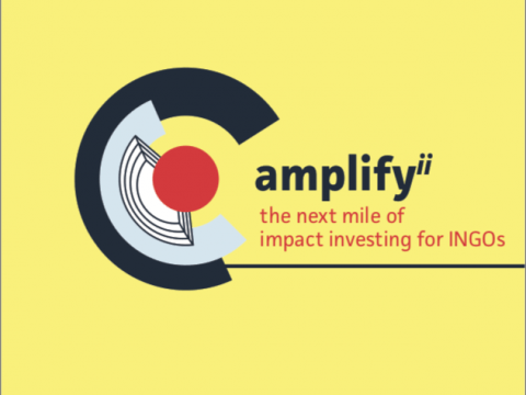 Amplify the next mile of impact investing for INGOs report cover
