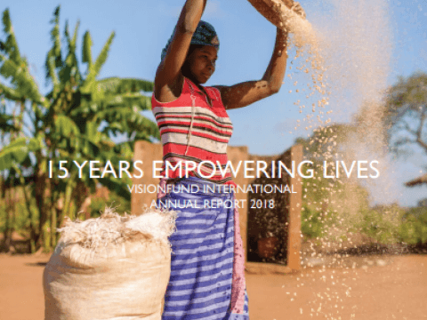 VisionFund Annual Report FY18 Cover