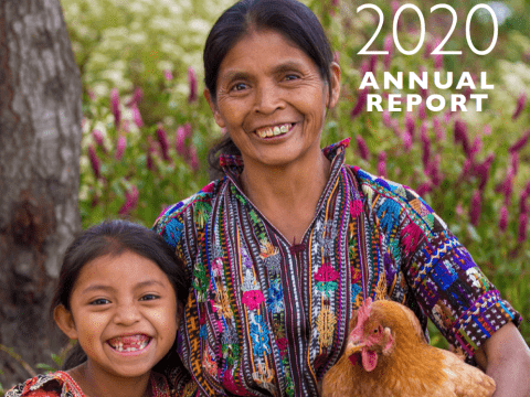 VisionFund International FY20 Annual Report Cover