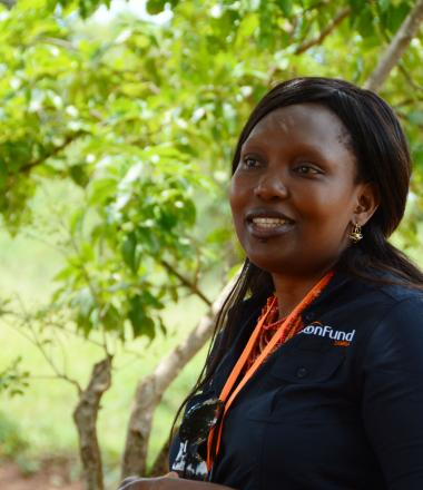 VisionFund staff in Zambia (female)