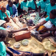 savings group in Zambia